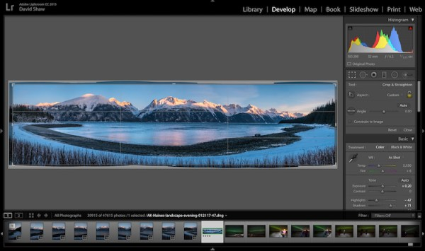 How to Shoot and Stitch a Panorama Photo