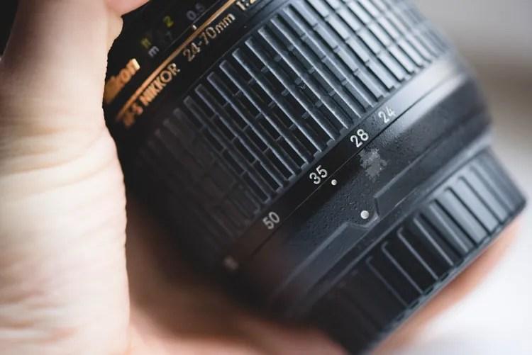 Lens wear tear used camera gear