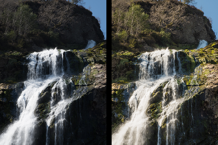 How Adjustments Layers can add colour correction and bring out the details in the image in an non destructive way