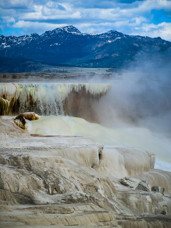 Low Impact Nature Photography - Mammoth Hot Springs