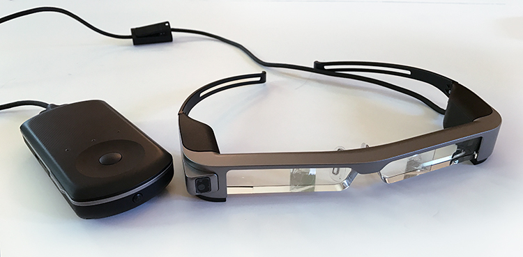 Review of the Epson Moverio BT-300FPV Smart Glasses for DJI Drones