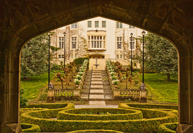 Hatley Castle by Anne McKinnell - How to Compose Photos with Impact Using Elements of Design