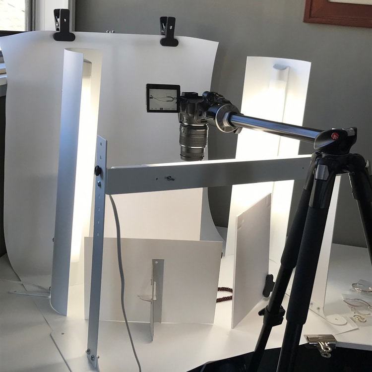Tripod setup - How to Start a Side Business in Product Photography