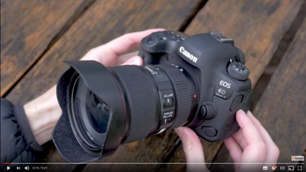 The New Canon 6D Mark II – Hands-On Previews and Thoughts
