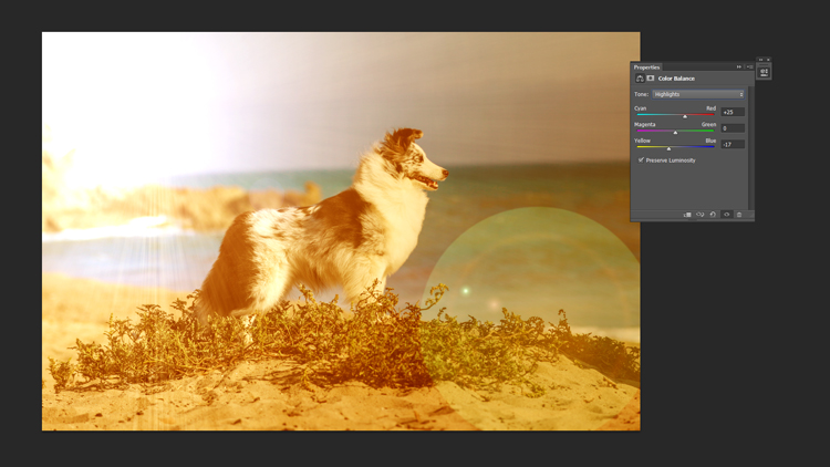 How to Create an Artificial Sunset Look Using Photoshop