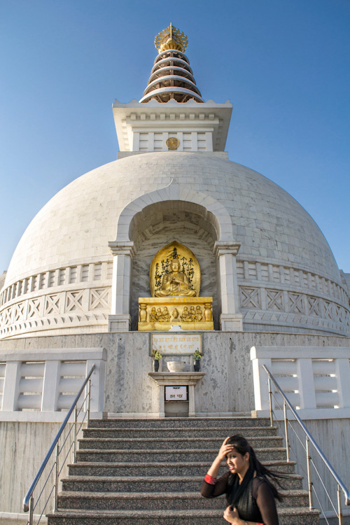 Vishwa Shanti Stupa Delhi - travel photography