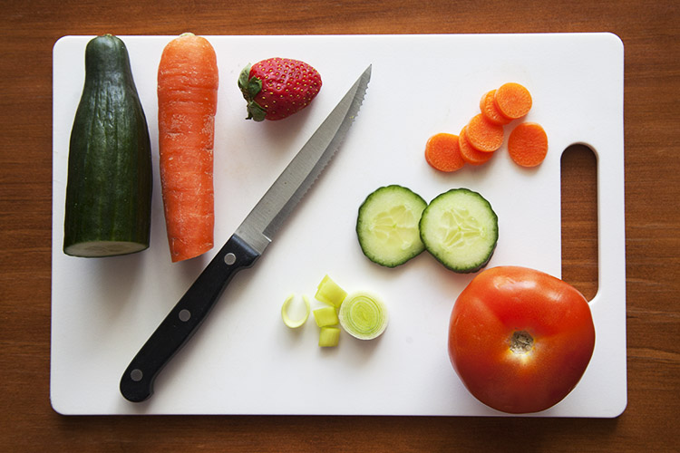 How to Create Abstract Photos with Fruit and Veggies