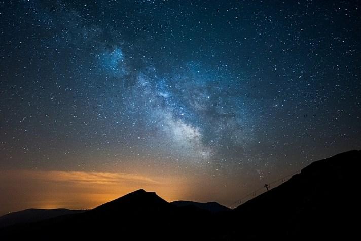 星空夜景摄影技巧与窍门