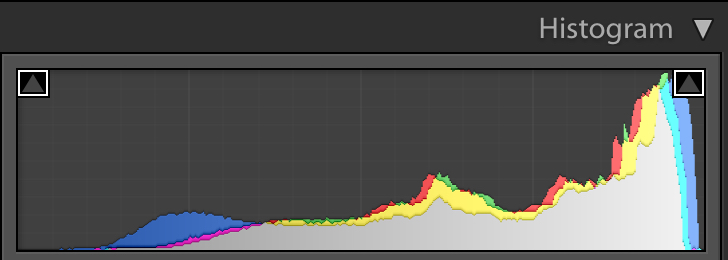 Troubleshooting 4 Tricky Photography Situations - target histogram