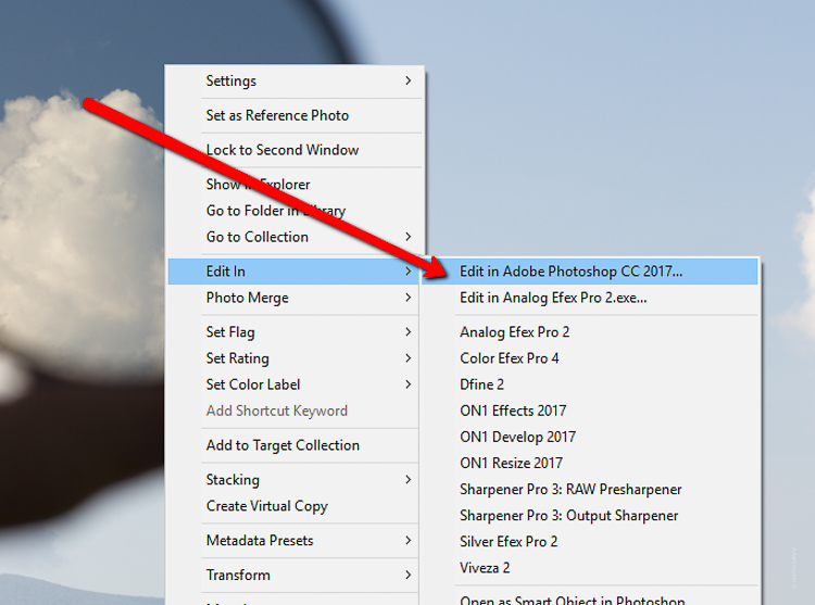 Using Lightroom Alongside Photoshop: Working with Smart Objects