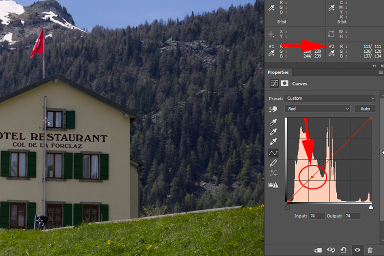 How to do Color Correction Using the Photoshop Curves Tool