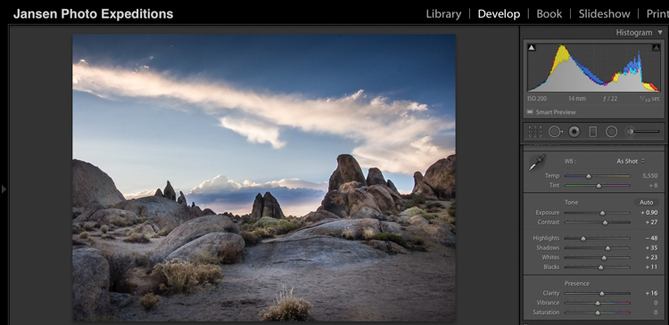 Alabama Hills After - Don't Fear Photo Post-Processing - Shooting is Only the First Part of the Image Creation Process