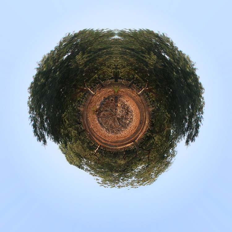 Final How to Make a Little Planet Quick and Easy in Photoshop
