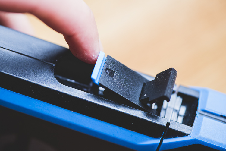 G-Drive ev ATC hard drives Locking mechanism for waterproof closure