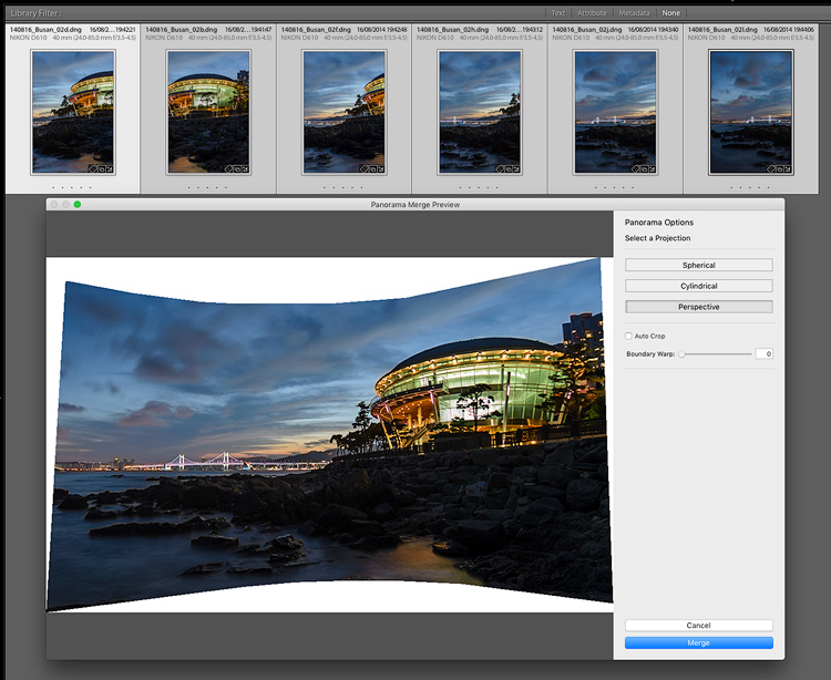 Lr pano demo - 5 Reasons for Lightroom Photographers to Use the Edit In Photoshop Feature