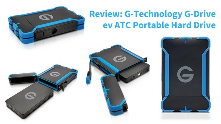Review G Technology G Drive ev ATC Portable Hard Drive
