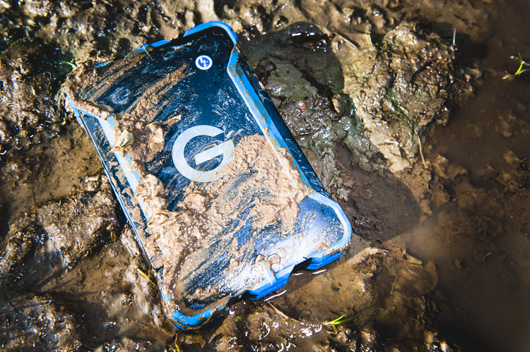 G-Drive ev ATC hard drives Tested in the dirt and mud without a hitch
