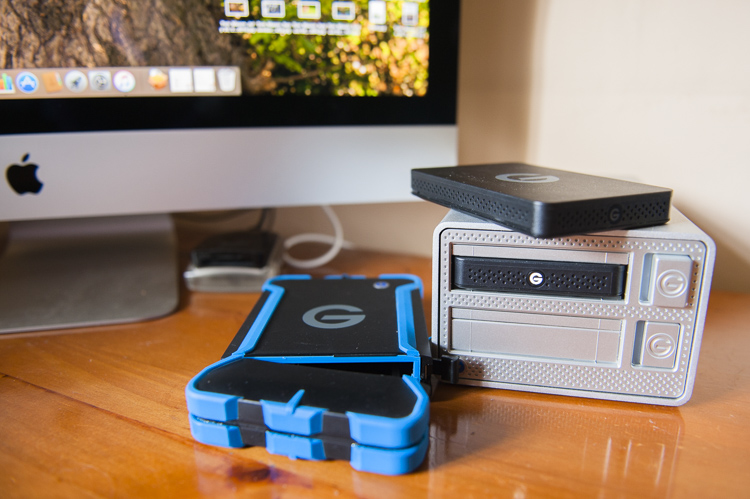 G-Drive ev ATC hard drives Using the internal drive with the EV docking station