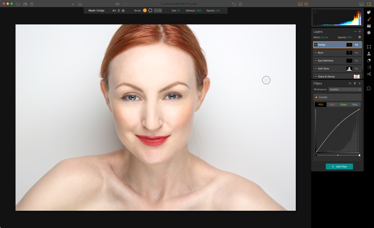 How to Edit a Portrait Using Luminar