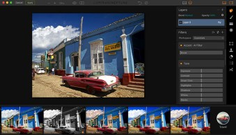 Luminar interface