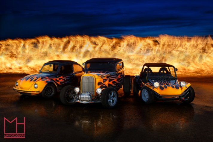 Flame for flame Hot Rod Flame for Flame - How the Shot was Made