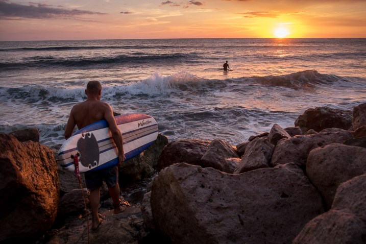 Image: Sunset in Nicaragua.