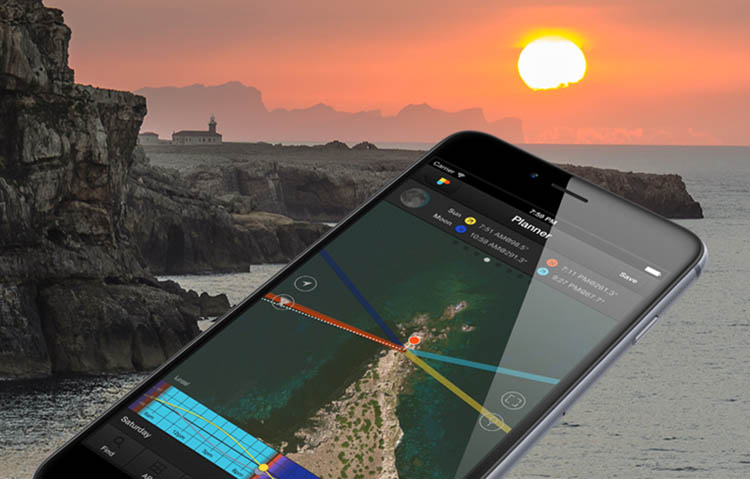 PhotoPills Sunset Planner - How to Plan and Take Killer Sunset Photos on Your Next Vacation
