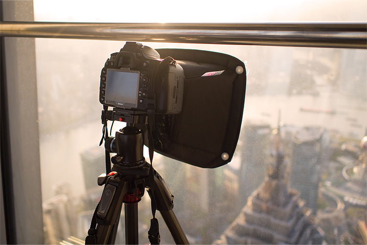 Lenskirt - Tips for Shooting Through the Glass Window of an Observation Deck at Blue Hour