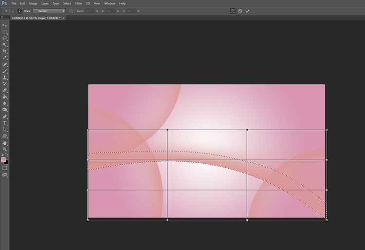 How to Create Minimal Desktop Background Using Photoshop