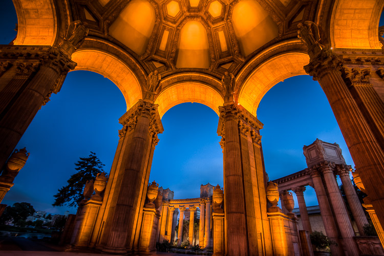 Image: San Francisco – the complementary colors of blue hour make for stunning compositions. U...