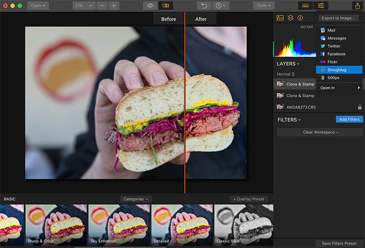 Luminar Social Media - How to Make Food Photos Look Tastier with Luminar