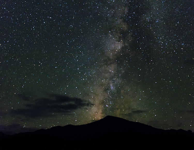 An Introduction to Lightroom Classic's Newest Tools - night sky image