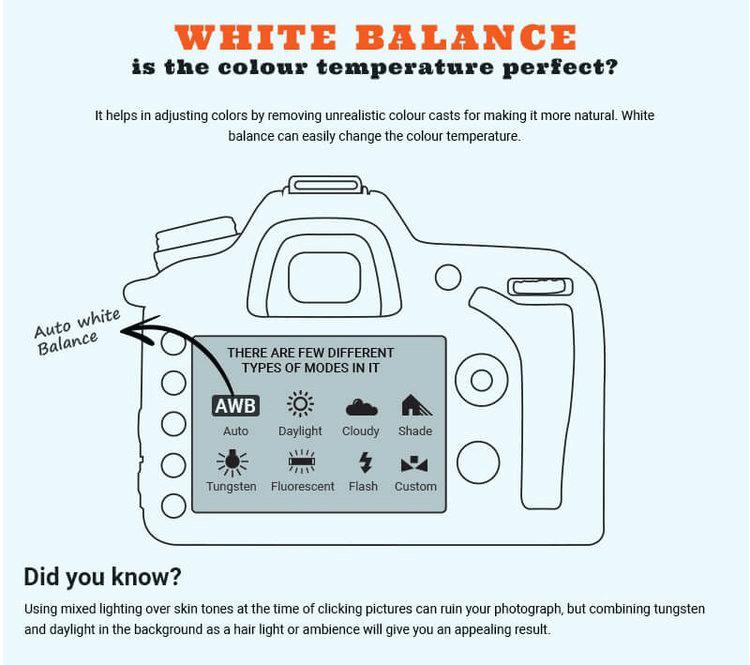 Folha de referência do balanço de branco no modo manual