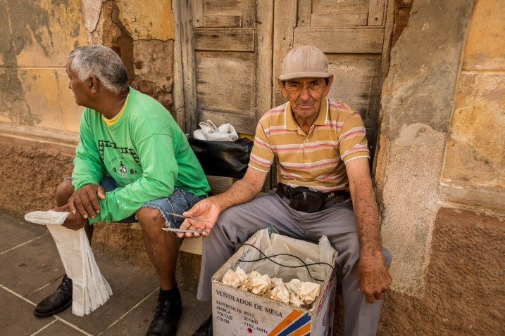 Image: Trinidad, Cuba – bought some meringues from this lovely man just so I could take his ph...