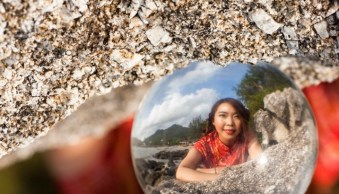 How to Take Unique Crystal Ball Portraits