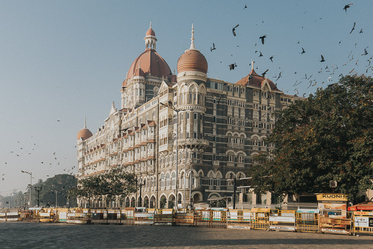 Photo of the Taj Hotel in Mumbai at sunrise - 5 Ways to Invest in Your Photography Over the Next 365 Days