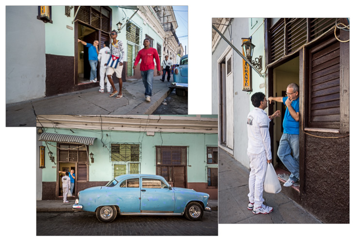 Image: Here you can see some shots I took of two men deep in conversation in Cienfuegos, Cuba. But i...