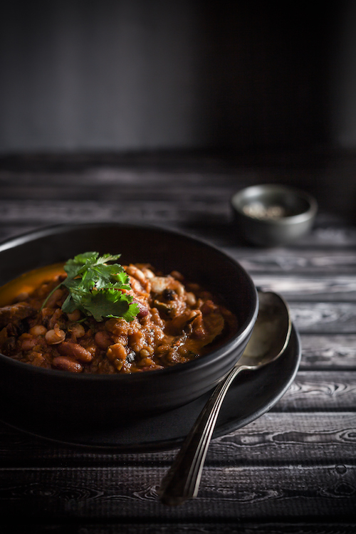 Chili - dark food photography