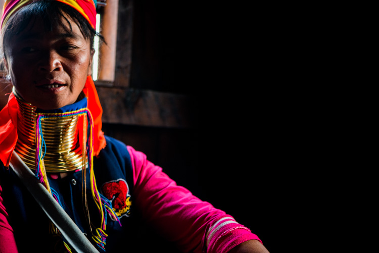 Kayan long neck woman in a house in Myanmar - 3 Bad Habits to Break to Improve Your Photography