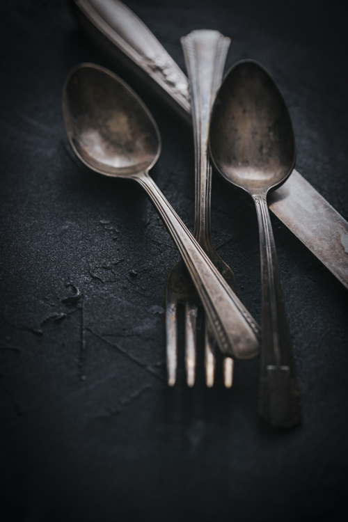Utensils - Five Essentials of Doing Dark Food Photography