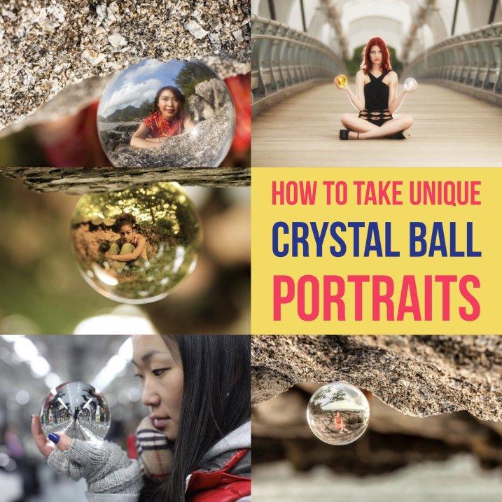 如何拍摄独特的水晶球肖像