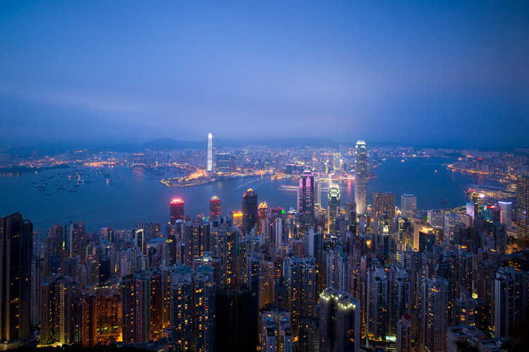 Hong Kong - How to Find the Best Possible Time to Shoot Cityscapes at Blue Hour