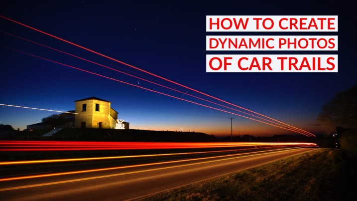 How to Create Dynamic Photos of Car Light Trails