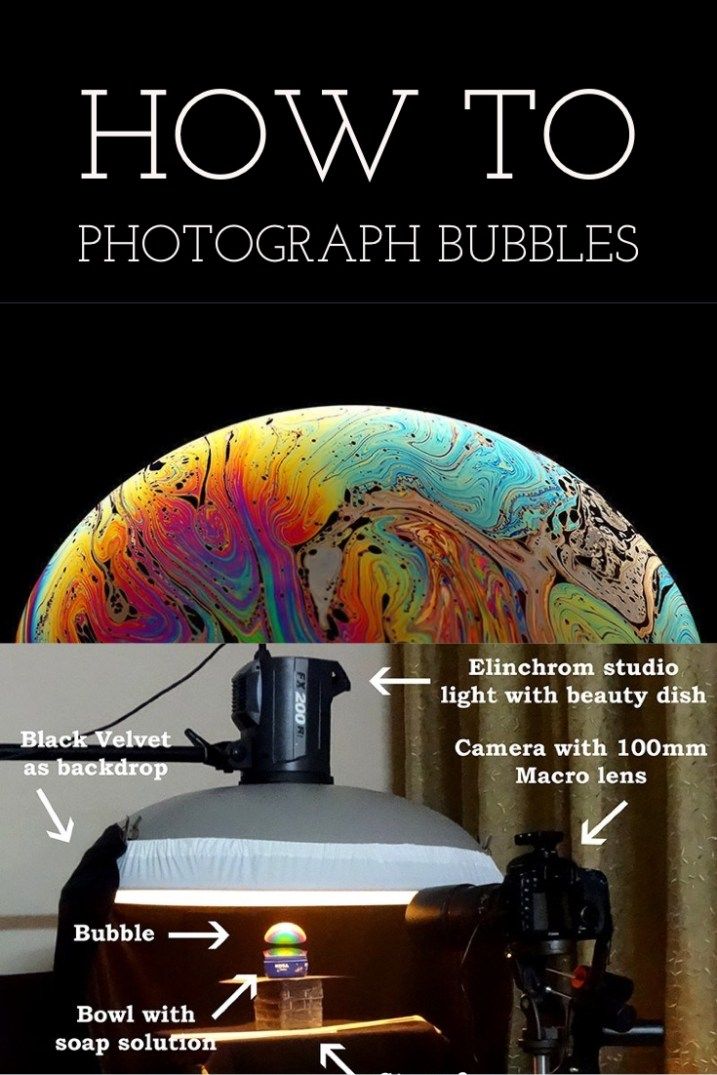 How to Photograph the Sheer Beauty of Soap Bubbles