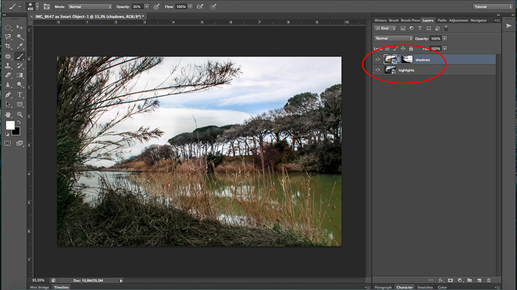 Double processing - How to Create with a Good Workflow Using Smart Objects in Photoshop