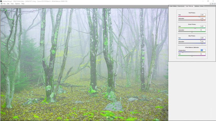 How to Use Adobe's DNG Profile Editor to Make Custom Camera Profiles