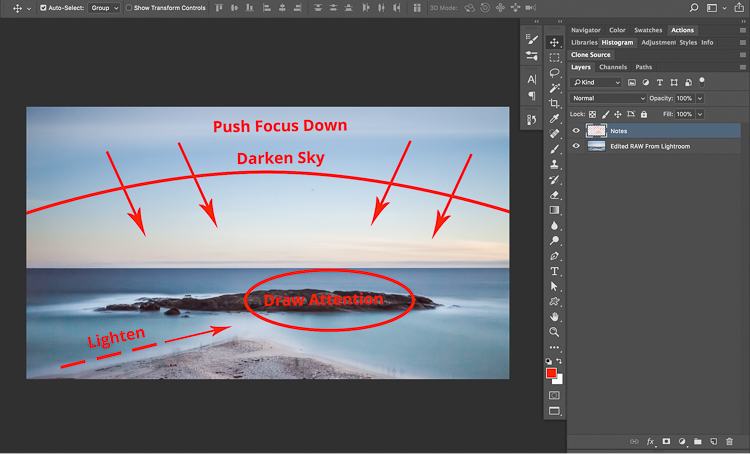 18 Long Exposure Photography 201 How to edit a Long Exposure Seascape
