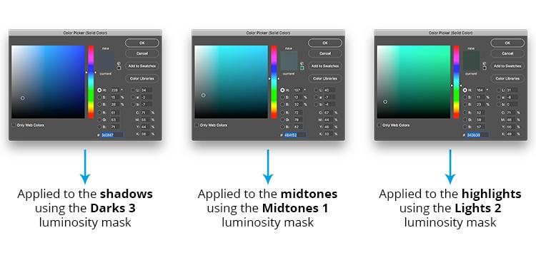 how to create luminosity masks