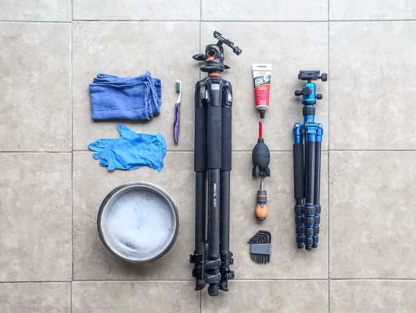 How to Clean Your Tripod and Make it Like New