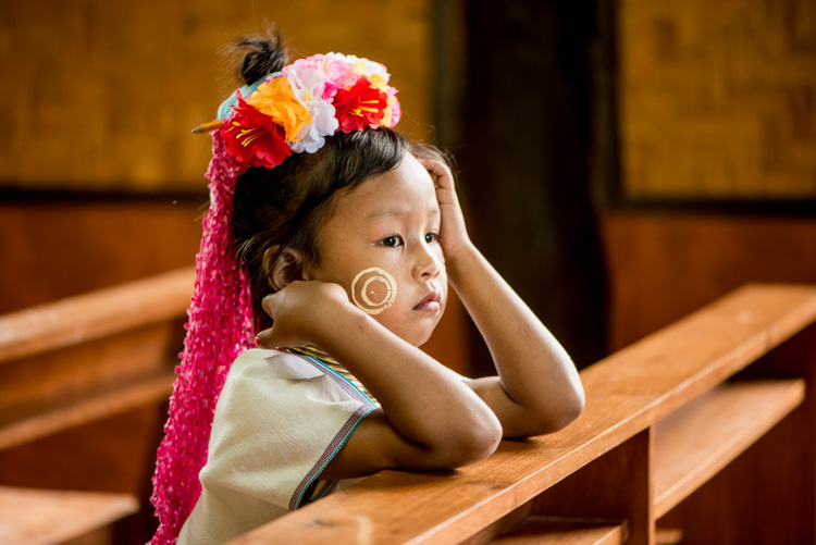 Portrait of a young Kayan girl - Tips for Learning How to See the Light and Take Better Photos